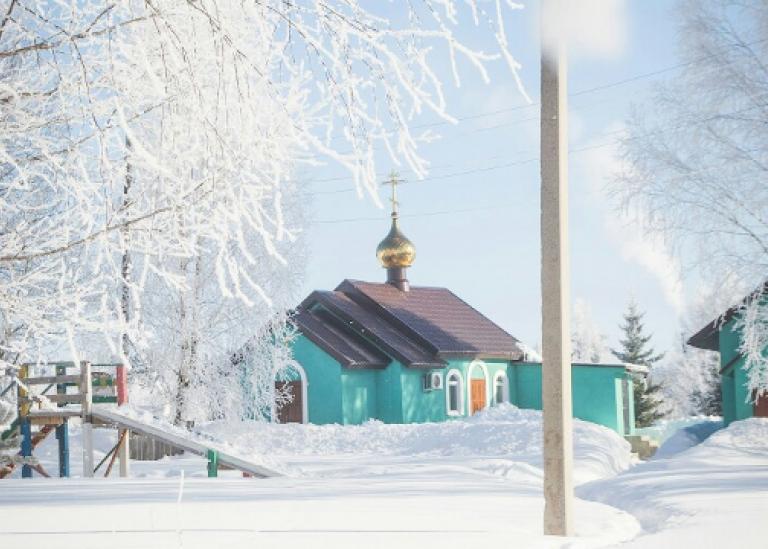 Заработал вебсайт прихода храма прп. Сергия Радонежского